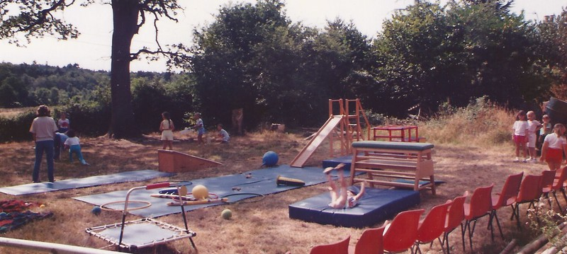 With the initial acquisistion of beams and a single bar in the early 1990's some of classes also took place at Plaitford Village Hall including Ladies ...